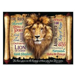 God's Heritage Lions Large Piece