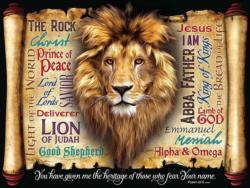 God's Heritage Lions Large Piece