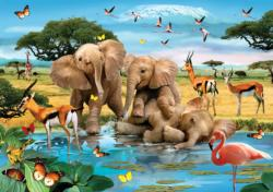 Making A Splash Jungle Animals Jigsaw Puzzle