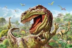 T-Rex Time Dinosaurs Jigsaw Puzzle