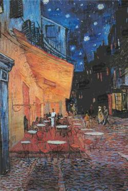 Cafe Terrace On Place Du Forum Impressionism Jigsaw Puzzle