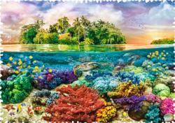 Tropical Island Seascape / Coastal Living Jigsaw Puzzle