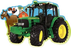 Plowing Through (John Deere) John Deere Children's Puzzles