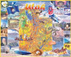 Utah United States Jigsaw Puzzle