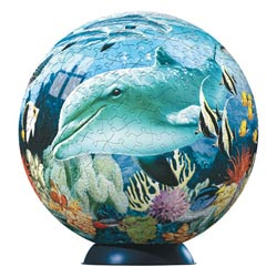 Puzzleball - Underwater World Dolphins Puzzleball
