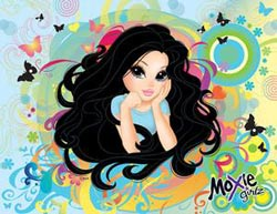 Magic Hair (Moxie Girlz) Cartoons Children's Puzzles