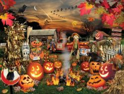 Jack O Lanterns - Scratch and Dent Collage Jigsaw Puzzle