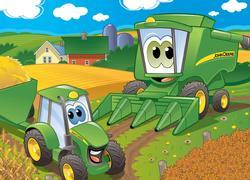Harvest Time(John Deere) John Deere Children's Puzzles