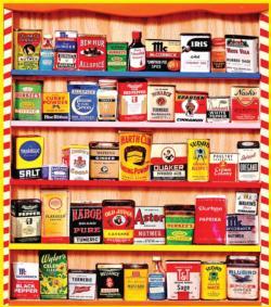 Spice Rack Nostalgic / Retro Jigsaw Puzzle