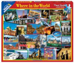 Where in the World Landmarks Jigsaw Puzzle
