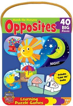 Opposites Game Educational Jigsaw Puzzle