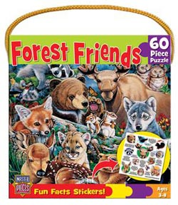 Forest Friends (Fun Facts) Wildlife Children's Puzzles