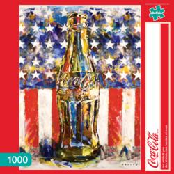 Red White and You Coca Cola Jigsaw Puzzle