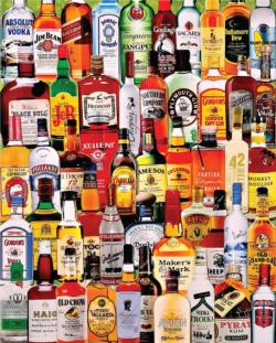 Fine Spirits Pattern / Assortment Jigsaw Puzzle