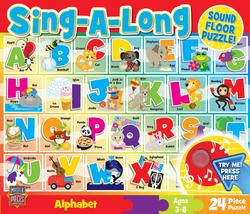 Sound Floor Puzzle - Alphabet Song Educational Children's Puzzles