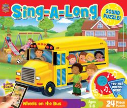 Sing-a-Long Sound - Wheels on the Bus Cartoons Sound Puzzle