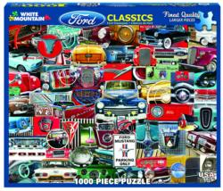 Ford Classics - Scratch and Dent Collage Jigsaw Puzzle