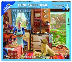 Home Sweet Home Domestic Scene Jigsaw Puzzle