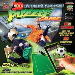3D Interactive - Soccer Sports Jigsaw Puzzle