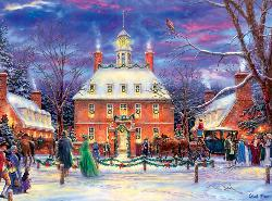 Governor's Party (Holiday Collection) Snow Jigsaw Puzzle