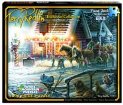 Sweet Memories (Terry Redlin Collection) Winter Jigsaw Puzzle