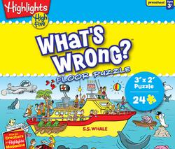 High Five - What's Wrong Cartoons Children's Puzzles