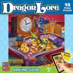Bedtime Stories (Dragon Lore) Cartoons Jigsaw Puzzle