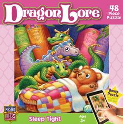 Dragon Lore - Sleep Tight Cartoons Jigsaw Puzzle