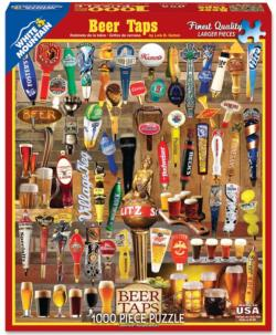 Beer Taps Food and Drink Jigsaw Puzzle