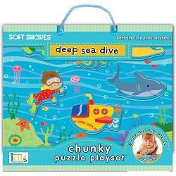 Deep Sea Dive Under The Sea Chunky / Peg Puzzle