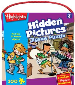 Hidden Pictures (Highlights) Music Jigsaw Puzzle