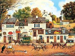 Olde Cape Cod Folk Art Jigsaw Puzzle