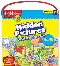High Five - Hidden Pictures Cartoons Jigsaw Puzzle