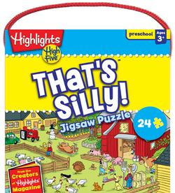 High Five - That's Silly Cartoons Jigsaw Puzzle