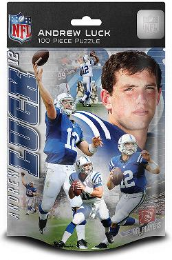 Indianapolis - Andrew Luck (Colts)  (NFL  Foil Pack) Sports Children's Puzzles