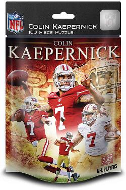 San Francisco - Colin Kaepernick (49ers)  (NFL  Foil Pack) Sports Children's Puzzles