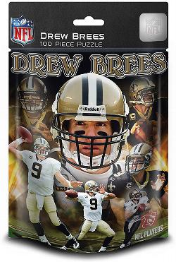 New OrleansDrew Brees (Saints)  (NFL  Foil Pack) Sports Children's Puzzles
