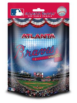 Atlanta Braves  (MLB  Foil Pack) Baseball Children's Puzzles