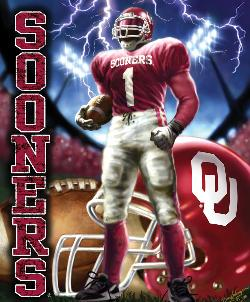 Oklahoma  (NCAA  Foil Pack) Sports Jigsaw Puzzle