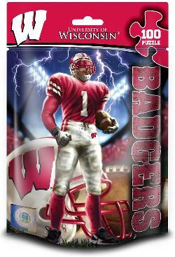 Wisconsin  (NCAA  Foil Pack) Sports Jigsaw Puzzle