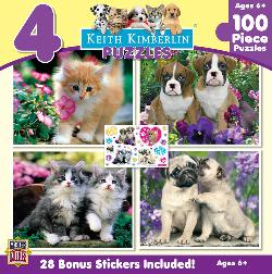 Kimberlin  4-pack Baby Animals Multi-Pack
