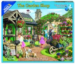 The Garden Shop People Jigsaw Puzzle