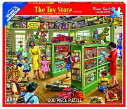 The Toy Store - Scratch and Dent Nostalgic / Retro Jigsaw Puzzle