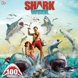 Feeding Frenzy (Shark Week) Movies / Books / TV Jigsaw Puzzle