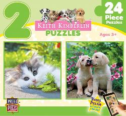 Cuddly Cute (Keith Kimberlin 2-Pack) Baby Animals Multi-Pack