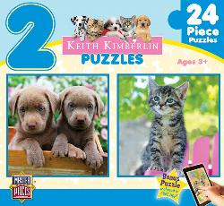 Perfect Pals (Keith Kimberlin 2-Pack) Baby Animals Multi-Pack