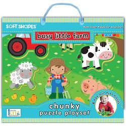Busy Little Farm Under The Sea Chunky / Peg Puzzle
