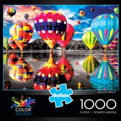 Balloon Dream (Color Splash) Lakes / Rivers / Streams Jigsaw Puzzle