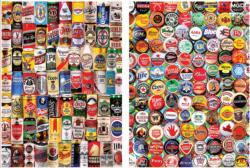 For The Love of Beer 2-in-1 Pattern / Assortment Jigsaw Puzzle