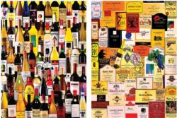 For the Love of Wine 2-in-1 Pattern / Assortment Jigsaw Puzzle